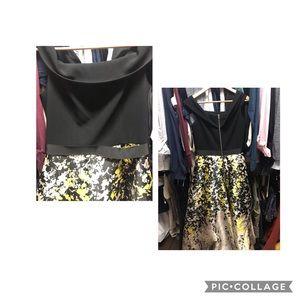 THEIA High Low formal dress